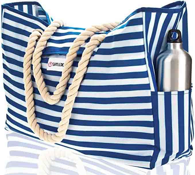 10 Best Waterproof Beach Bags & Water Resistance Beach Totes