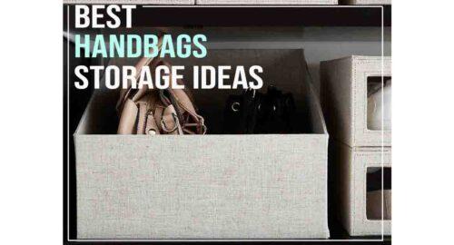 purse & handbag storage ideas