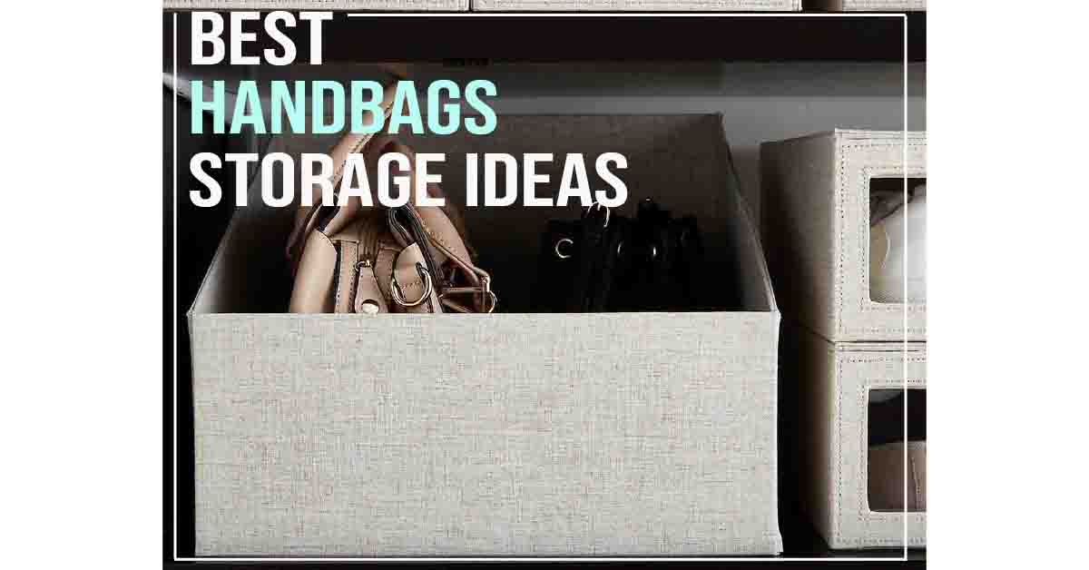 purse & handbag storage ideas
